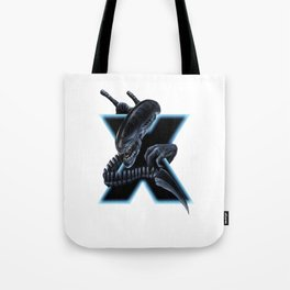 Geek letter X Tote Bag