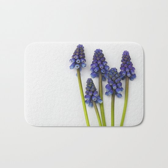 Muscari - Blue Grape - JUSTART © Bath Mat