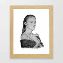 Holland Roden, Lydia Martin Framed Art Print