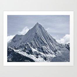 Nevado Piramide Mountain Art Print
