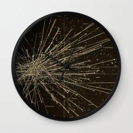 Meteor Shower Wall Clock