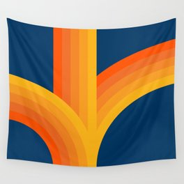 Bounce - Sunset Wall Tapestry