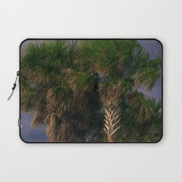 Palm Trees, Stormy Weather Laptop Sleeve