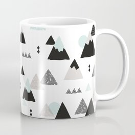 Geometric Fuji mountain japan travel pattern Coffee Mug