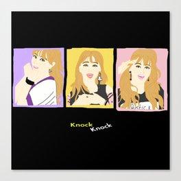 Knock Knock! Jihyo Version Canvas Print