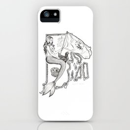 Rhode Island Mermaid iPhone Case