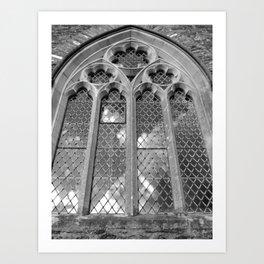 Church Window Art Print