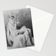 Moonlight becomes you Stationery Cards