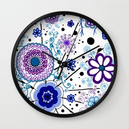 Ka-BLUE-ie! Wall Clock