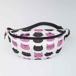 PINKBLACK CAT Fanny Pack