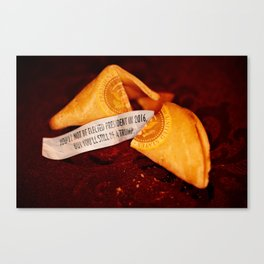I Spent A Fortune On This Cookie. Canvas Print