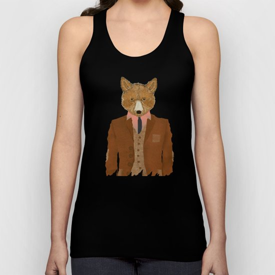 mr fox Unisex Tank Top