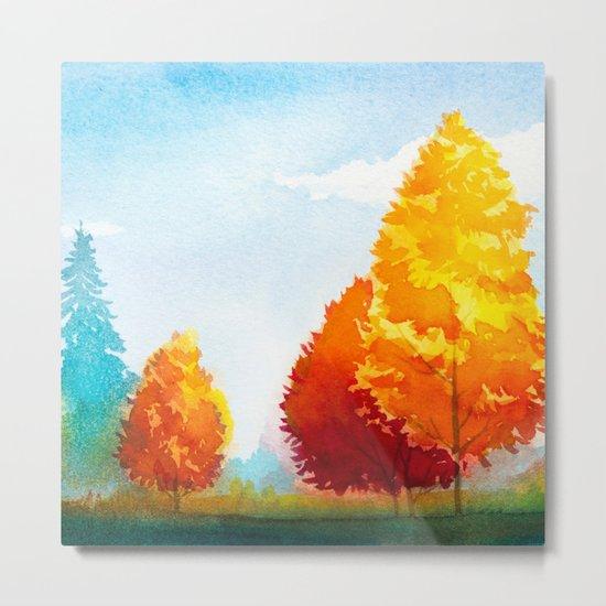 Autumn landscape #3 Metal Print