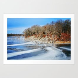 Brushy Creek Art Print