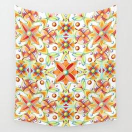 Suzani Textile Pattern Wall Tapestry