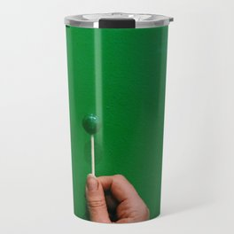 lollipop, meet wall Travel Mug