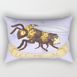Let me Be(e) Rectangular Pillow