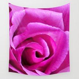 Fuschia Rose Wall Tapestry