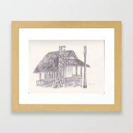 BALLEPN TRAVEL IN LAOS 7 Framed Art Print