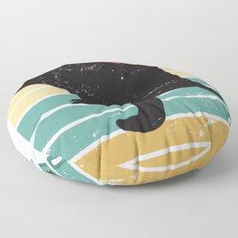 Sugar Glider Retro Floor Pillow