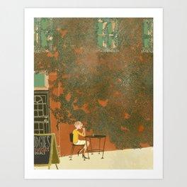 Mudgie's Deli Art Print