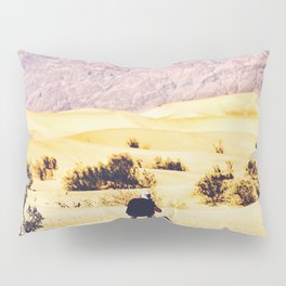 At Death Valley national park, USA in summer Pillow Sham