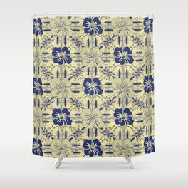 Contemporary_Paradise Shower Curtain