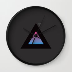 The Triangle Experiment Wall Clock