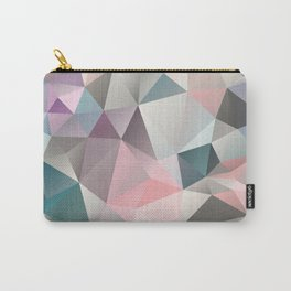 Polygon abstract 1 Carry-All Pouch
