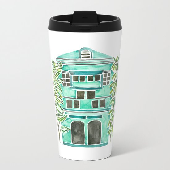 The Grotto – Mint Palette Metal Travel Mug