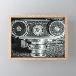 Old Camera Framed Mini Art Print
