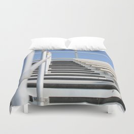 Bleachers Duvet Cover