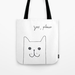 Yes, please Tote Bag