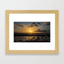 Sunset Cove Framed Art Print