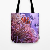 nemo Tote Bags featuring Nemo by Joanna Dickinson