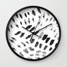 Dabs and Spots Wall Clock