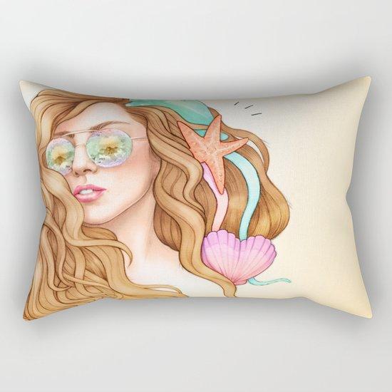 Free my mind, ARTPOP Rectangular Pillow
