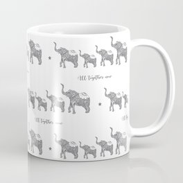 All together Now! Elephant Coffee Mug