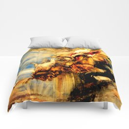 "Gustave Moreau ""La chute de phaéton (The Fall of Phaeton)"" Comforters"