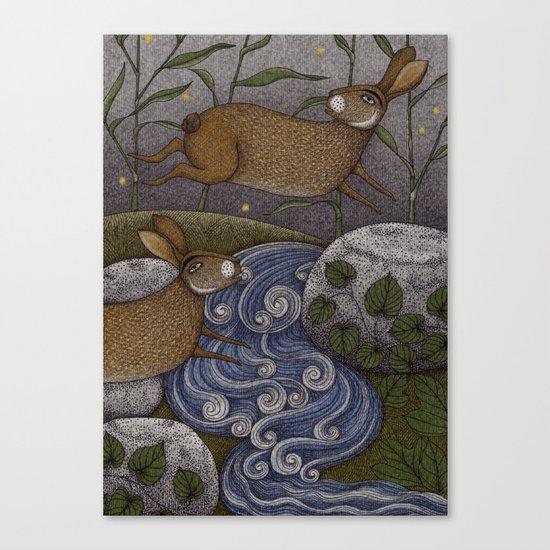 Swamp Rabbit's Reedy River Race Canvas Print