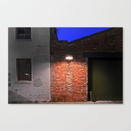New Orleans Warehouse District - Color Canvas Print