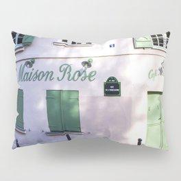 La Maison Rose Montmartre Paris Pillow Sham