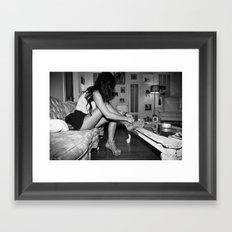 im goin out Framed Art Print
