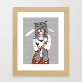Lady of the Wild Framed Art Print