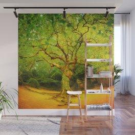 Golgotha Tree Wall Mural