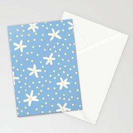 Daisy Polka Print Stationery Cards