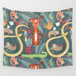 Rain forest animals 003 Wall Tapestry