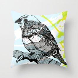 Sparrow me Throw Pillow