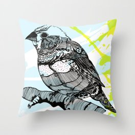 Sparrow me Throw Pillow