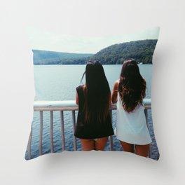 Wander A Little Throw Pillow